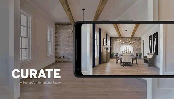 Curate Mobile Augmented Reality App